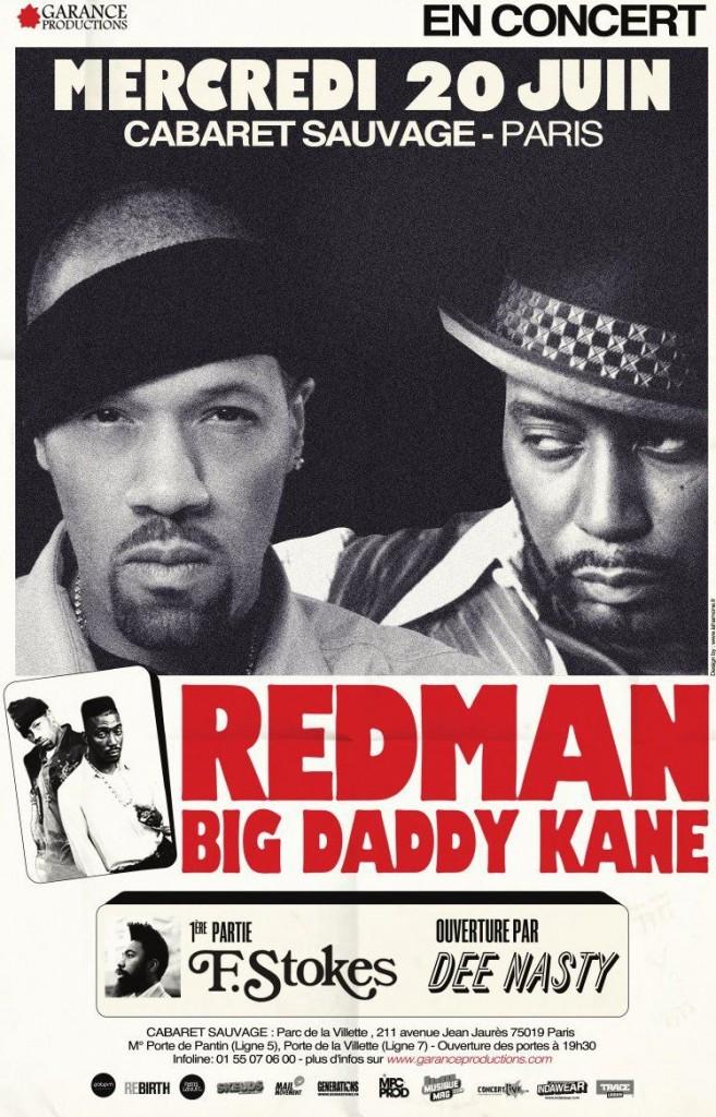 REDMAN + BIG DADDY KANE + F.STOKES le 20 juin au Cabaret Sauvage 413410 153340158132641 100003699722168 212499 177964882 o 657x1024